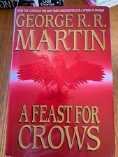 A Feast For Crows - George R.R.  Martin (HC, 2005) 1st print - Game of Thrones