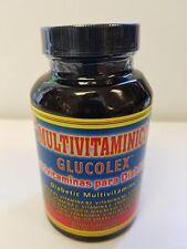 GLUCOLEX (Multivitaminas para Diabeticos)