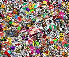 "60"" x 20"" Panda Cartoon Graffiti Sticker Bomb Wrap Sheet Decal for Motor Vehicle"