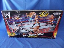 WWE ELITE SCALE ACTION FIGURE WRESTLING RING MATTEL 1ST RELEASE 2010