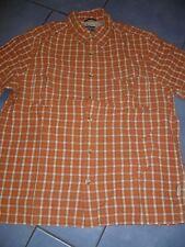 Bonito señores hombres manga corta outdoor camisa blusa talla s 37/38 Columbia Titanium