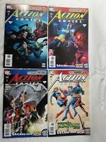 4 Action Comic Books #878 #879 #880 #881 DC