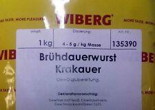 Wiberg Brühdauerwurst Krakauer 1kg, Gewürz, Gewürze