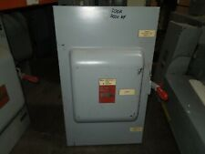 GE TC35364 Mod 7 200A 3ph 3P 600V Double Throw Non Fused Manual Transfer Switch