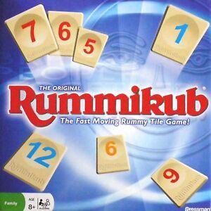 Original Family's Tile Fun Board Game Rummikub Classic Rummy Home Entertainment