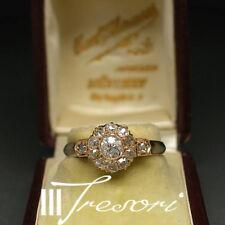 1,0 Carat Art Deco Diamond Ring 750 Size 61 altschliff Antique Gold Munich 2.900 €