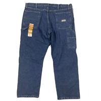 NWT Wrangler Carpenter Blue Jeans Denim Pants Authentic Issue Mens Size 40x30