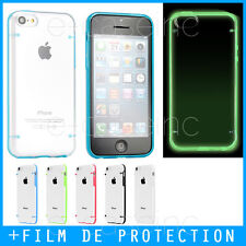 Coque Case Bumper iPhone 4S 5S, SE / Luminous Crystal Plexi - FLUORESCENT / GLOW