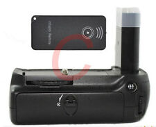 Pro Power Vertical Battery Grip as MB-D80 For Nikon D90 D80 + Remote