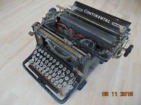 Alte Continental Schreibmaschine Wanderer-Werke Antik