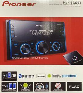 "NEW Pioneer MVH-S420BT 2-DIN 6.8"" Digital Media Receiver w/ Bluetooth, Spotify"