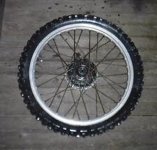 1983 YAMAHA XT 250 FRONT WHEEL TRAIL BIKE DIRT BIKE TT TRAILBIKES GENUINE