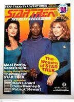 Star Trek The Next Generation Starlog Magazine #14 Women of Star Trek 1990-1991