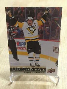 2018/19 - Upper Deck Series 1 - UD Canvas - Sidney Crosby - #C63