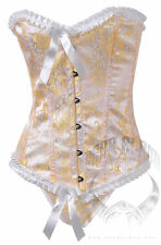 Polyester Bridal Boned Basques & Corsets for Women