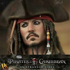 HOTTOYS HOT TOYS ON STRANGER TIDES CAPTAIN JACK SPARROW DX-06 FIGURE ES AQ1673
