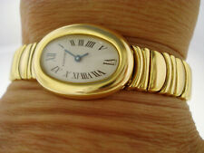 TOP Armbanduhr Cartier Mini Baignoire 750er Gold 18K Watch Orologio ca. 67,4 g.