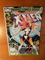 Uncanny X-Men #164, FN- 5.5, 1st Appearance Carol Danvers as Binary