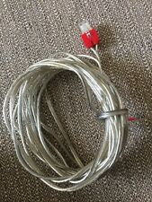 Genuine Sony DAV Home Cinema System Speaker Cable - Red Connector. 3m