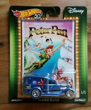 HOT WHEELS POP CULTURE DISNEY 2018 PETER PAN '34 DODGE DELIVERY Real Riders New