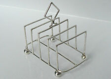 SILVER STERLING VICTORIAN c1900 WILLIAM AITKEN B'HAM HM 60g TOAST LETTER-RACK