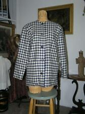 Women's Guy Laroche France 60's Blazer Coat Chic Navy Check size 36/M