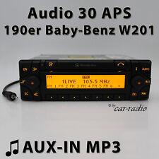 Mercedes Audio 30 APS AUX-IN 190er Navigationssystem Baby-Benz W201 Radio Navi