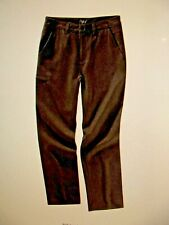 Ibex Outdoor Clothing Men's Merino Ramble Wool Pant Size 38 NWT Grey Haze