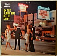 George Shearing Quintet On the Sunny Side of Strip Mono T-1416 LP NM Vinyl Jazz