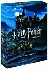 Coffret Harry Potter l'Intégrale des 8 Films Le monde des Sorciers Saga DVD .