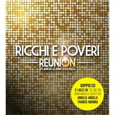 Ricchi e Poveri REUNION - DOPPIO CD AUTOGRAFATO  DAL 29 SETTEMBRE 2020