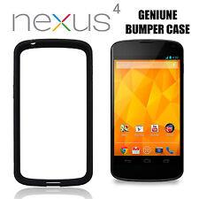 Genuine Official Google Nexus 4 Bumper Case, Black, ( LG CCH-190 Nexus 4 Black )