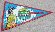 Cherbourg - Normandy - Vintage Pennant Flag - Bunting