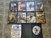 Lot of 10 Playstation 2 / PS2 Games Max Payne, TMNT, Sphinx, Star Wars, Naruto