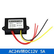 AC-DC 24V to 12V 5A Power Converter High Power 60W Monitoring Power Supply