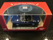 1:43..Maxi Car--Alfa Romeo Spider Duetto 1600-1966 in Blau