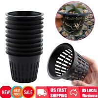 10pcs 3 inch Heavy Duty Mesh Pot Net Cup Basket Planting Grow Clone Garden Tool