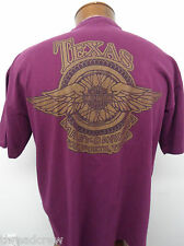 HARLEY-DAVIDSON MOTORCYCLES FT. WORTH TEXAS TEE T-SHIRT sz L mens S/S#4525