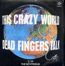 7inch DEAD FINGERS TALK this crazy world PORTUGAL 1979 EX +PS