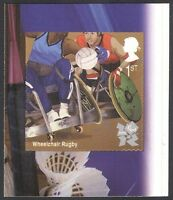 GB 2011 Olympics/Paralympics/Wheelchair Rugby/Sports/Disabled 1v s/a (n32603)