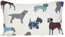 Perros rectángulo cubierta Cojín Impreso Decorativo Funda de almohada hombre es el mejor amigo
