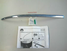 2012-2016 FIAT 500 500C Front Hood Spear Chrome 82212565 OEM