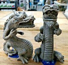 Classic Balinese Dragon Fish Tank Stone Effect Aquarium Ornaments - 2 Designs