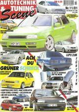 Tuning Scene 11/01 * BMW M3 E46 * Toyota MR2 * Corsa B * VW Corrado * AUDI A4 *