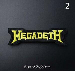 1 x Megadeath Patch, Sew or Iron On, Rocker, Rock, Biker, Heavy Metal