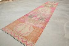 Long Runner Kilim Runner Rug Vintage Runner Turkish Runner 2'8x12'8 Ft 4570 RUGS