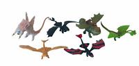 How to Train your Dragon Movie Series Mini Figures Bundle Toothless, Meatlug