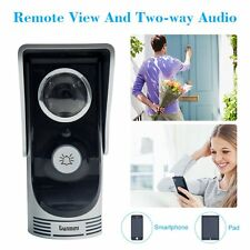 WiFi Smart Video Doorphone Wireless Video Camera Home Doorbell Intercom System