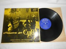 "LP- ORQUESTA RIVERSIDE "" RITMOS DE CUBA "" ON PUCHITO REC."