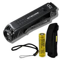 NITECORE P18 1800 Lumen Tactical Flashlight with Red Light and NITECORE Battery